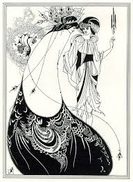 """Salome"" illustration by Aubrey Vincent Beardsley 1894"
