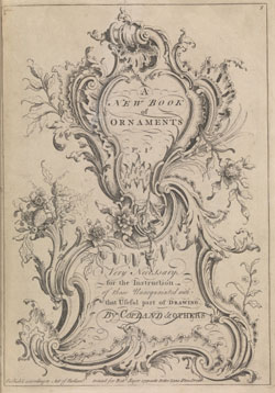 A new book of ornaments by Henry Copland(c.1710-53)