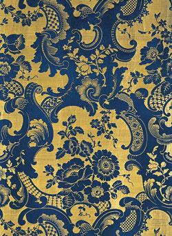 Rococo Revival French textiles c.1850
