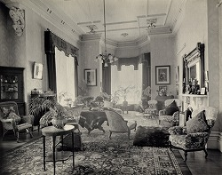 Government House, reception room