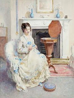 Sewing Box by Walter Ernest Webster (1877-1959)