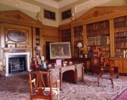The Library at Nostell