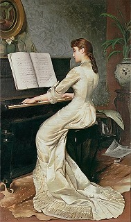 A Song Without Words by George Hamilton Barrable (1873-1890)