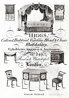 furniture trade card, Lndon