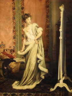 Before The Mirror 1873 by Pierre Glaize