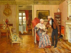 For fifty years by Walter Dendy Sadler (British, 1854–1923)