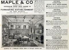 Maple & Co advertisement