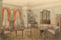 Edwardian Living Room