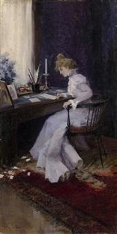 Earnest Letter by Ivan Alekseevich Vladimirov (russisch,1869-1947)