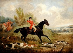 """Tally Ho"" by Henry Alken (1785-1851, English)"