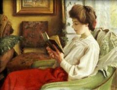 A Good Book by Paul-Gustave Fischer,1905