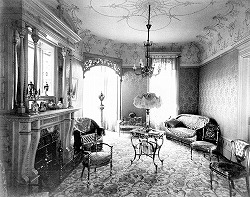 Palour interior c1900