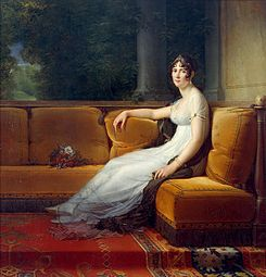 Portrait of the Empress Josephine by Francois Gerard (1770-1837, French)