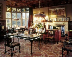The Library, Cragside Mansion