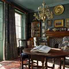The dining room at Emery Walker's House, © Heritage Lottery Fund