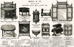 Maple & Co. advertising