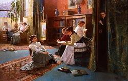 Forbidden Books by Alexander Mark Rossi (1840 - 1916, British)