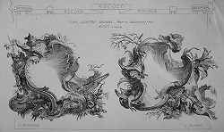 French Anonime Print, The Seasons, Middle 18th Century