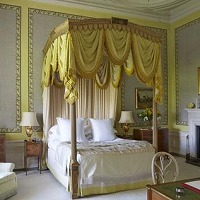Bedroom, Cornbury House in Oxfordshire