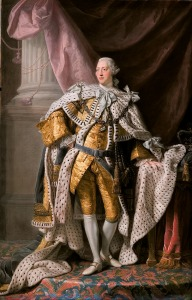 George III,Coronation portrait by Allan Ramsay,1762