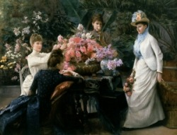 Spring Flowers by Julius LeBlanc Stewart (1855-1919)