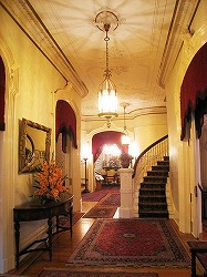 Entry hallway, Governor's Mansion