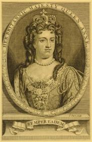 Her Britannia Majesty Queen Anne © The Trustees of the British Museum