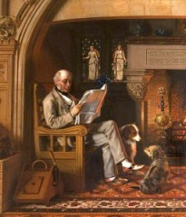 Sir William George Armstrong by Henry Hetherington Emmerson (1831-1895 British)