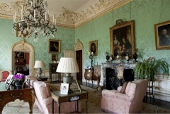 The drawing room, Highclere Castle