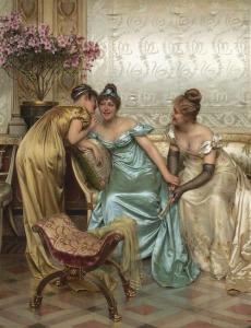 by Vittorio Reggianini (Italian, 1858-1938)