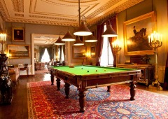 The Billiard Room in Althorp in England