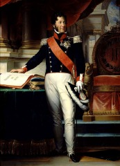 Louis Philippe with the Charter of 1830, by Francois Gerard, 1834