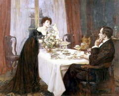 by Albert Chevallier Tayler(1862-1925) Image from Public domain