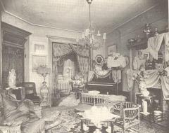 Victorian parlor © Copyright 2019 Bookworm Room