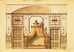 Design for the Etruscan Room, Home House, London. Image:Wikipedia