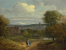 View of Ipswich from Christchurch Park by Thomas Gainsborough c.1746-9