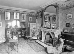 The Drawing Room of Borley Rectory, Photograph by Mary Evans Picture Library