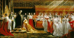 Queen Victoria coronation Image from Wikipedia