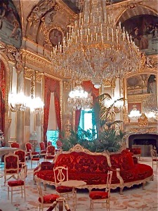 Grand Salon of Napoleon III apartments in the Louvre.