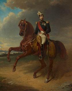 Napoleon III in 1855 by Edouard Boutibonne