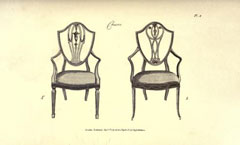 The cabinet maker and upholsterer's guide by A. Hepplewhite and Co