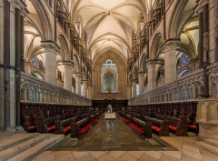 Canterbury Cathedral in Canterbury, Kent, England