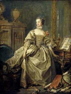 Madame de Pompadour, portrait by Francois Boucher