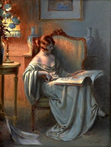 La Lecture by Delphin Enjolras (French)