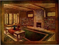 Advertisement for Globe-Wernicke Bookcases of Cincinnati, Ohio (1912)