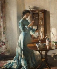 The China Cabinet, 1903 By Henry Tonks, PD
