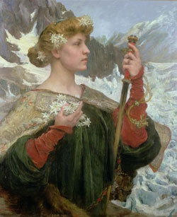 Edelweiss by Edgar Maxence/France (1871-1954)