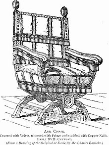 Antique arm chair drawn by Charles Eastlake Image:Wikipedia