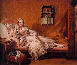 Madame Boucher/by François Boucher/1743