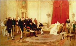 The salon of madame de Recamier by Sir William Quiller Orchardson/1832-1910